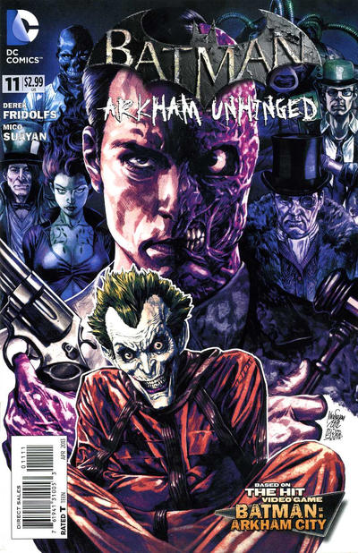Batman: Arkham Unhinged Vol 1 11