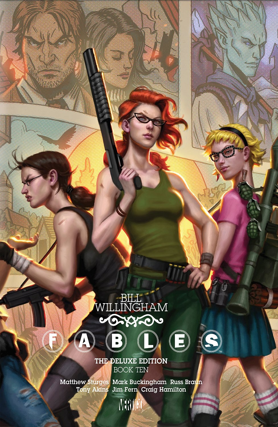 Fables: The Deluxe Edition - Book Ten (Collected)