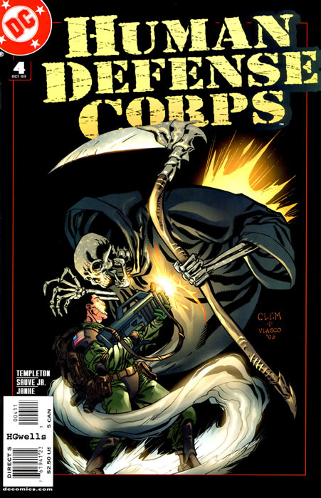 Human Defense Corps Vol 1 4