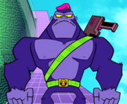 Mallah Teen Titans TV Series 001