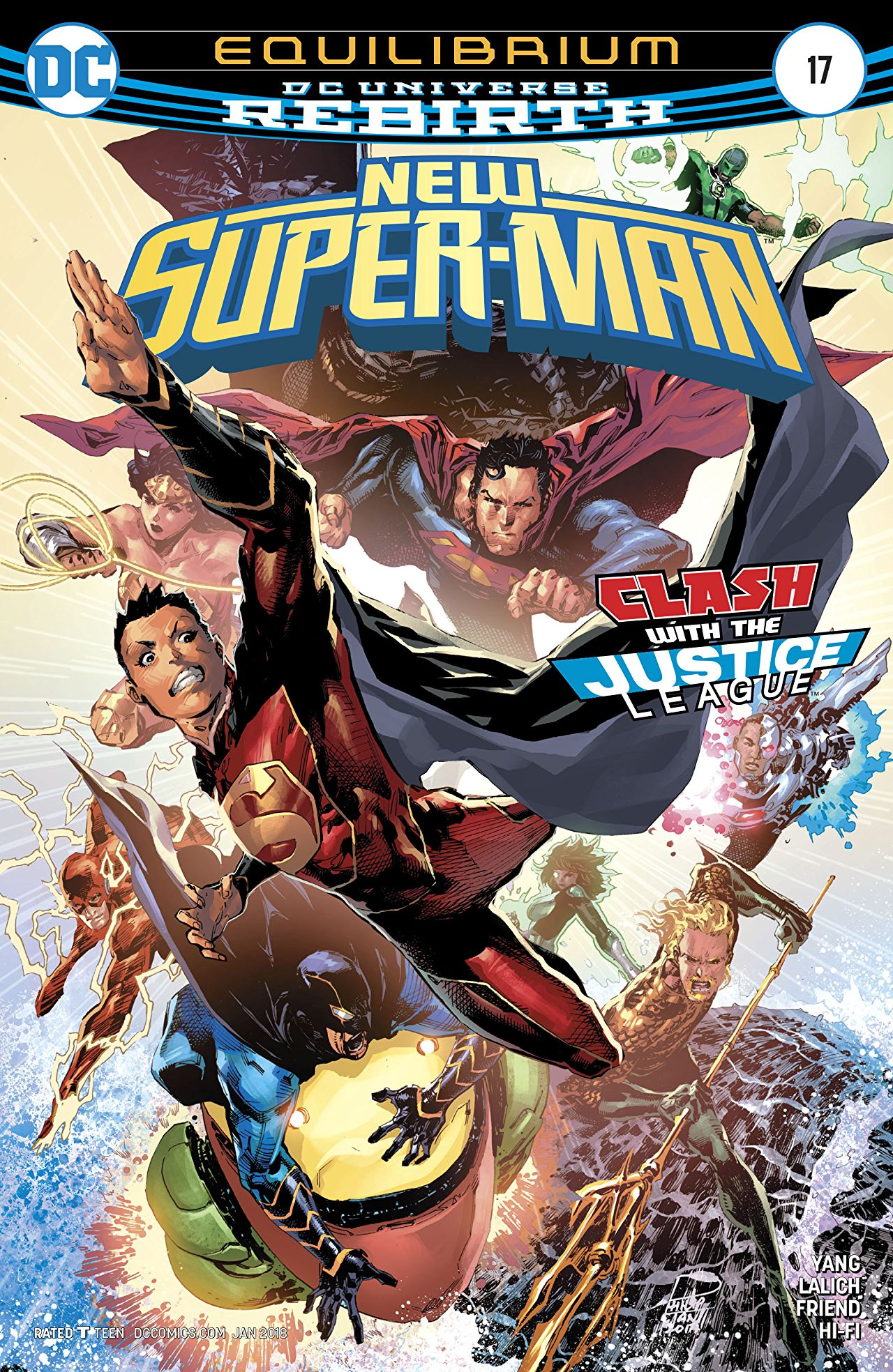 New Super-Man Vol 1 17
