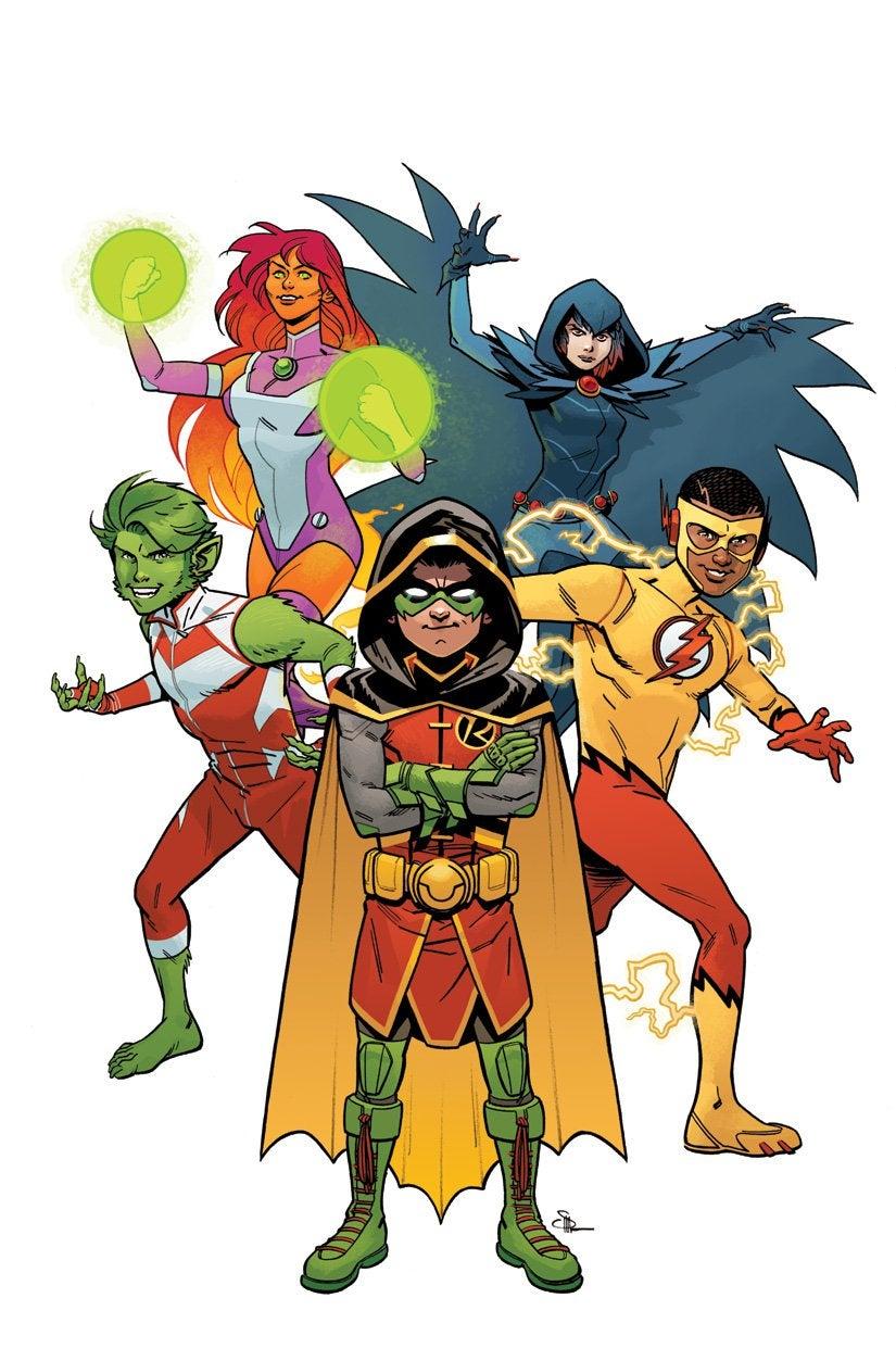 Teen Titans Rebirth Vol 1 1 Textless Variant.jpg