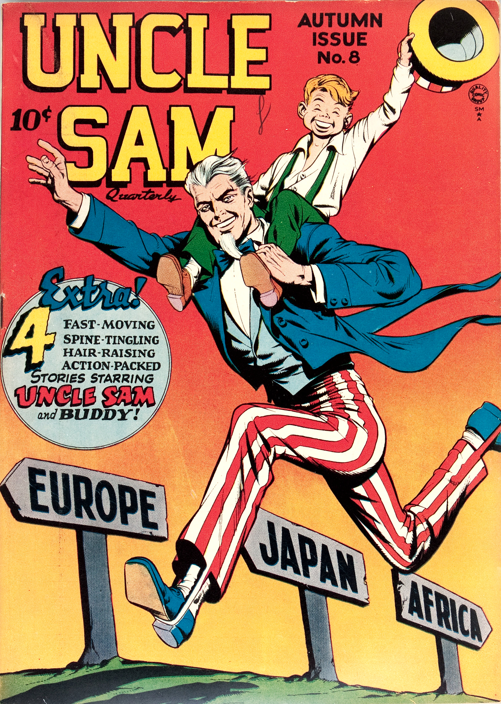 Uncle Sam Quarterly Vol 1 8