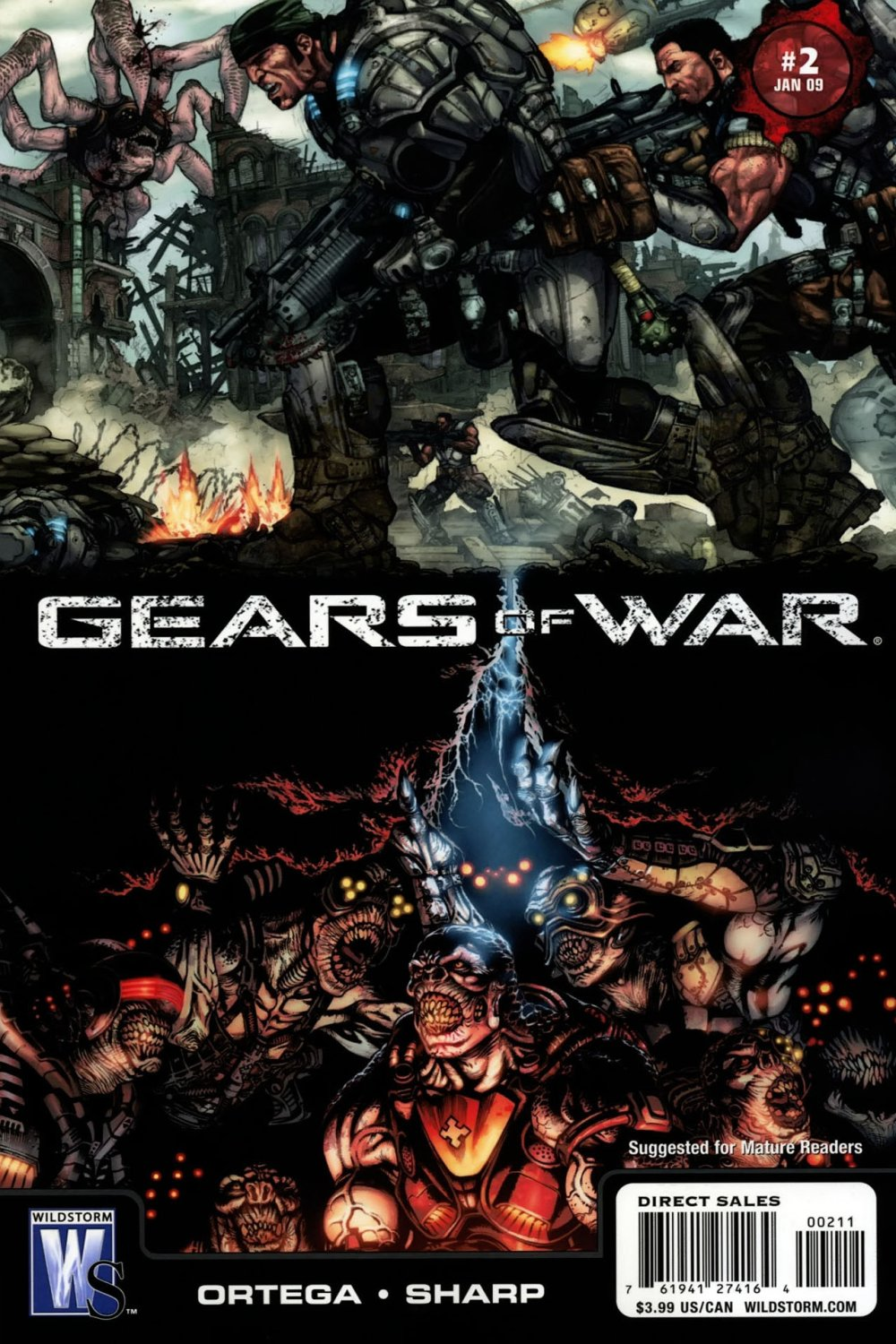 Gears of War Vol 1 2