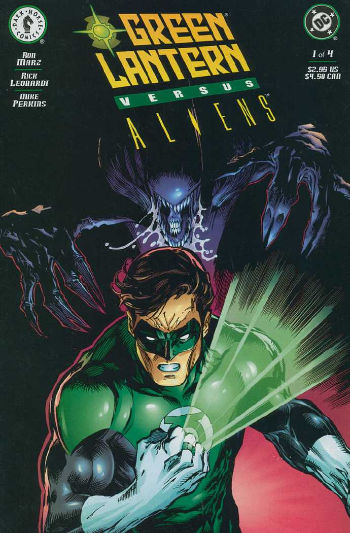 Green Lantern vs. Aliens Vol 1