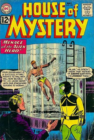 House of Mystery Vol 1 122