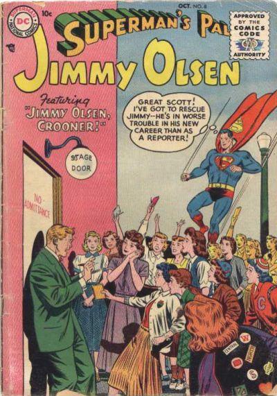 Superman's Pal, Jimmy Olsen Vol 1 8