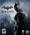 Batman Arkham Origins Blackgate cover