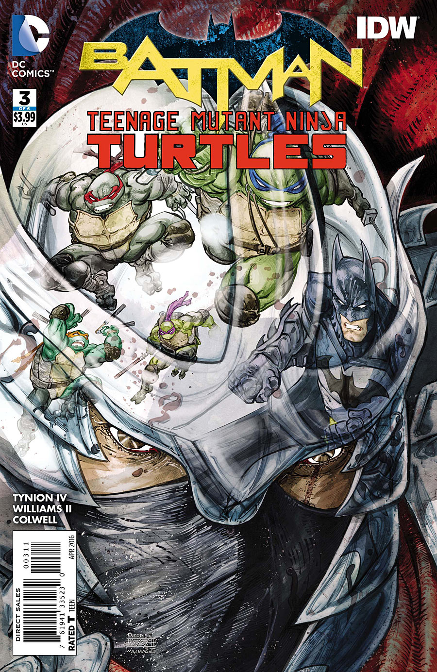 Batman/Teenage Mutant Ninja Turtles Vol 1 3