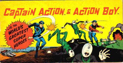 Captain Action & Action Boy Vol 1 1