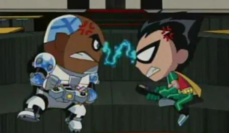 New Teen Titans (Shorts) Episode: Taped Before a Live Studio Audience