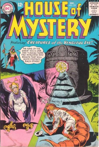 House of Mystery Vol 1 139