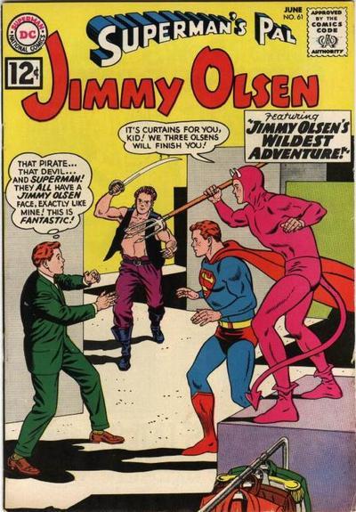 Superman's Pal, Jimmy Olsen Vol 1 61