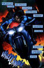 Nightwing across Gotham