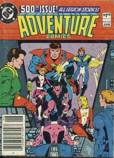 Adventure Comics Vol 1 500