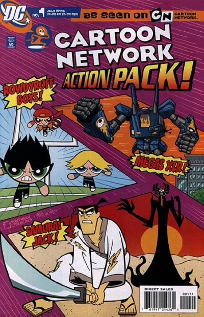 Cartoon Network Action Pack Vol 1