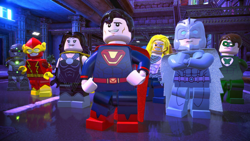 Crime Syndicate (Lego Batman: Earth 3)