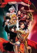 RWBY Justice League Vol 1 1 Textless