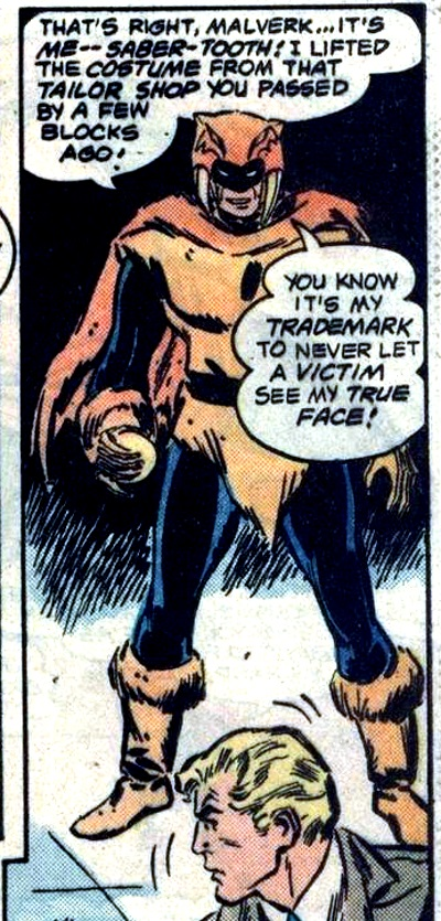 Saber-Tooth (Earth-One)