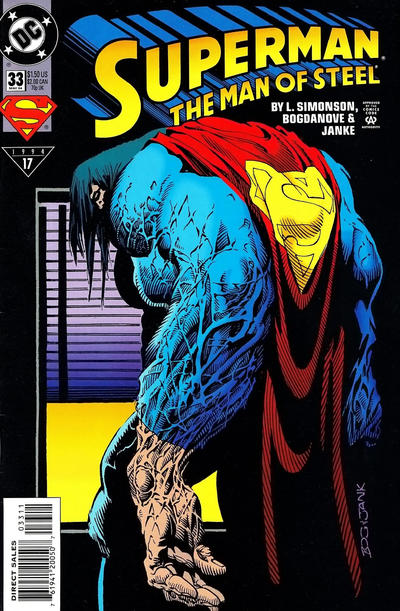 Superman: The Man of Steel Vol 1 33