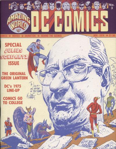 Amazing World of DC Comics Vol 1 3