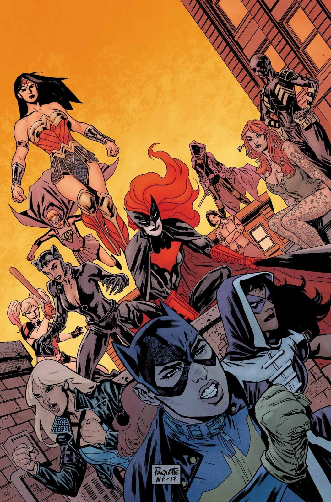 Batgirl and the Birds of Prey Vol 1 16 Textless.jpg