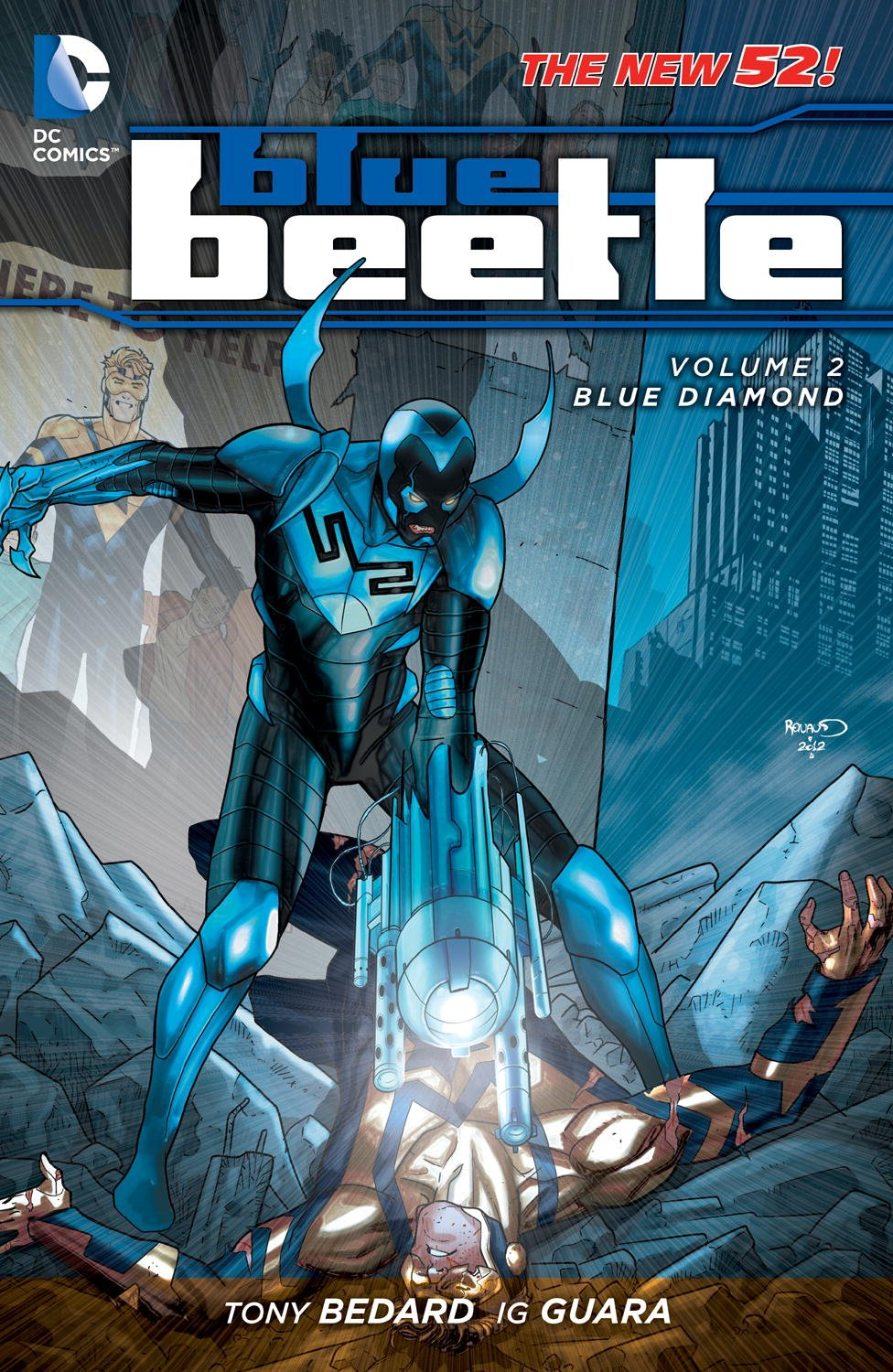 Blue Beetle: Blue Diamond (Collected)