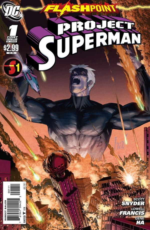 Flashpoint: Project Superman Vol 1 1