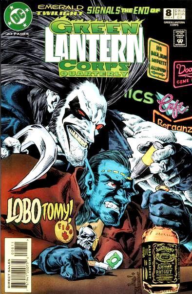 Green Lantern Corps Quarterly Vol 1 8