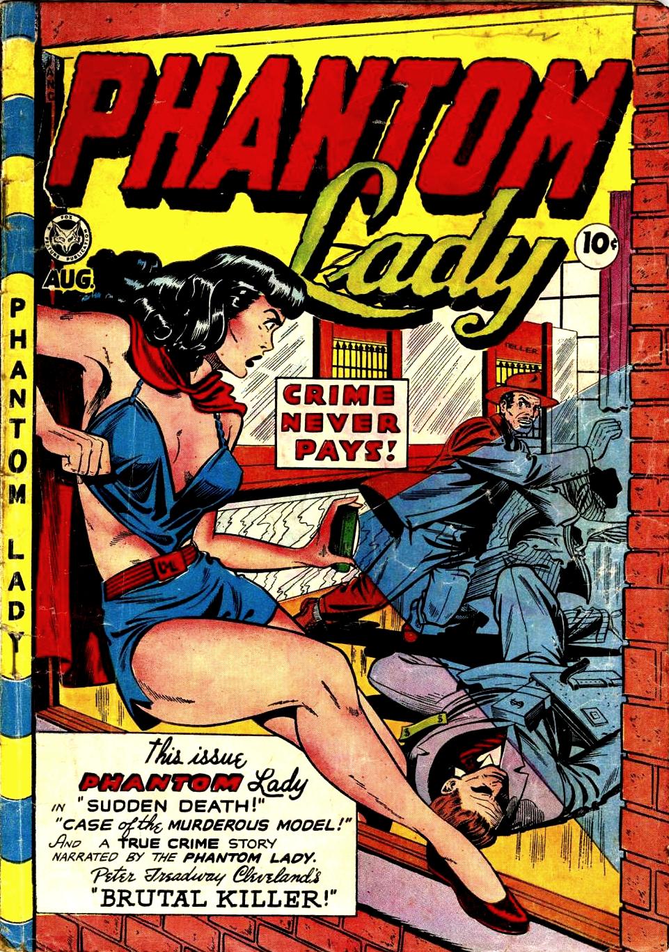 Phantom Lady (Fox) Vol 1 19