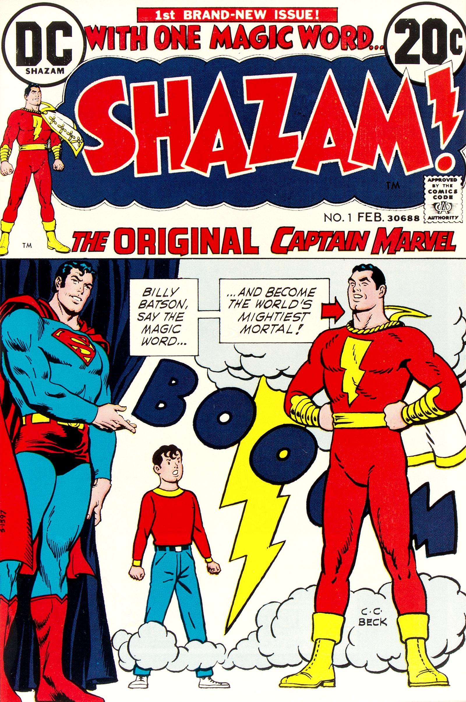 Shazam! Vol 1 1
