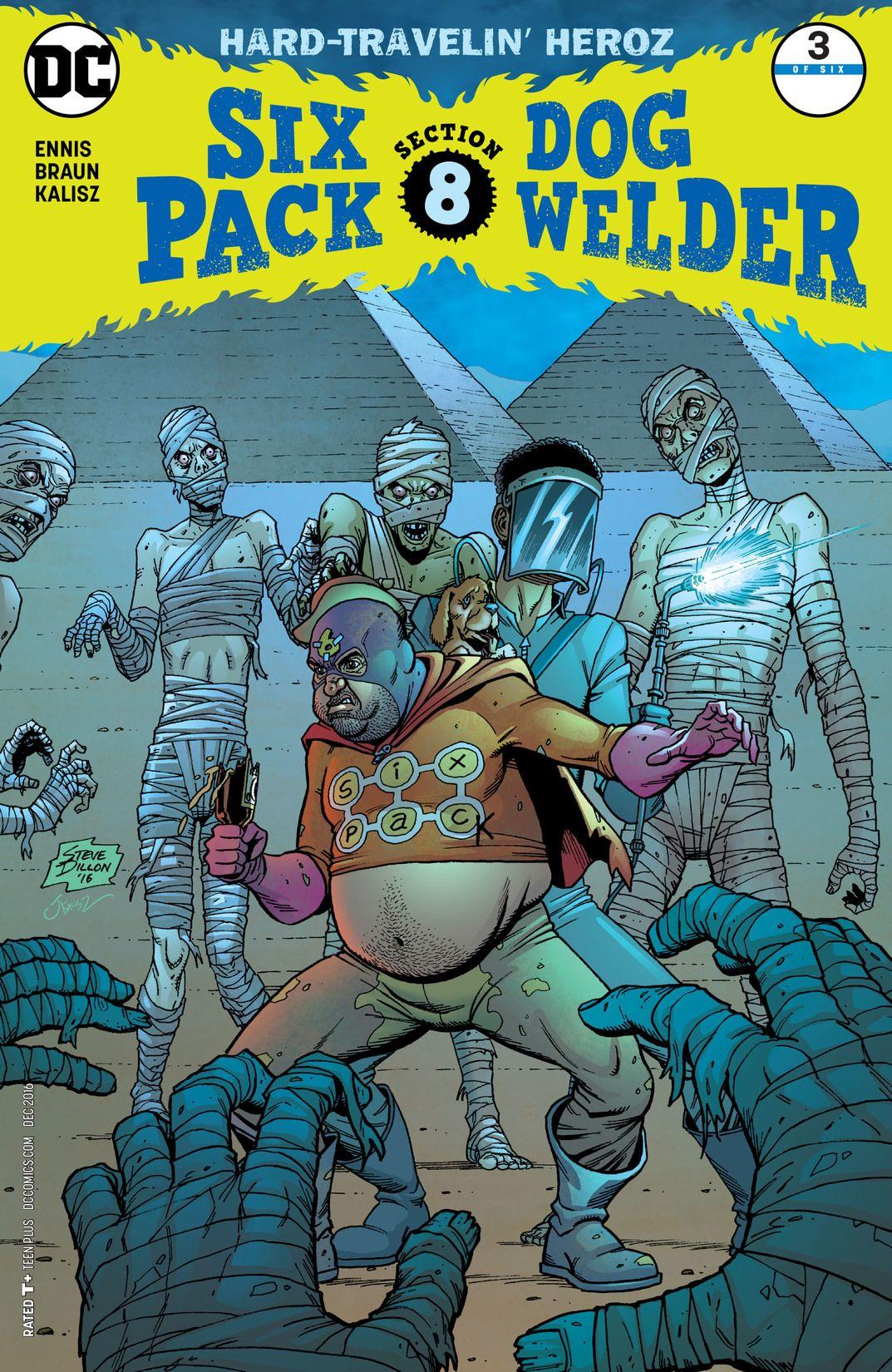 Sixpack and Dogwelder: Hard-Travelin' Heroz Vol 1 3