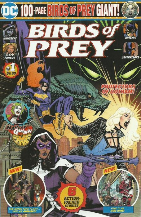 Birds of Prey Giant Vol 1 1