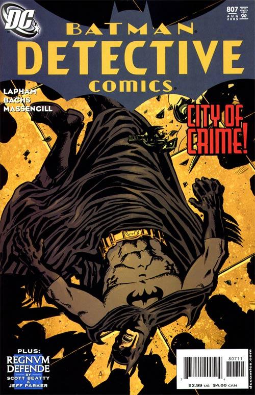 Detective Comics Vol 1 807