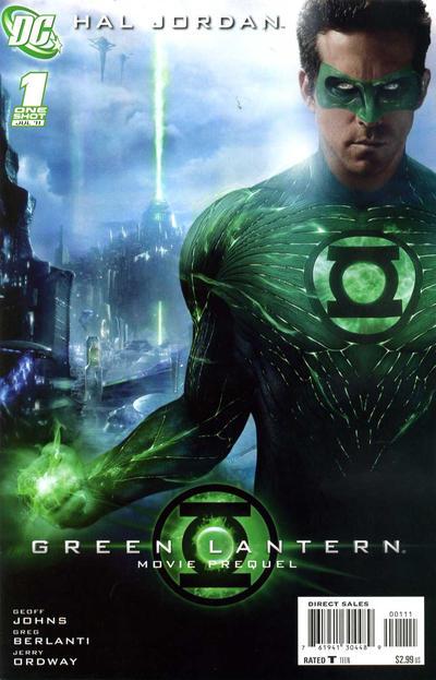 Green Lantern Movie Prequel: Hal Jordan Vol 1 1