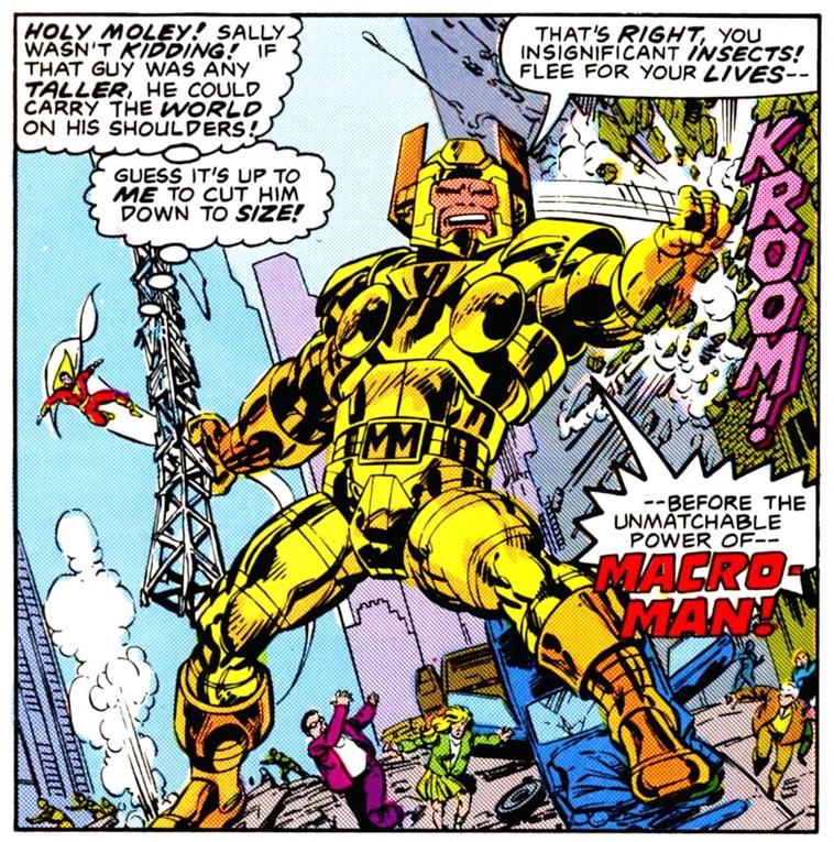 Macro-Man (New Earth)