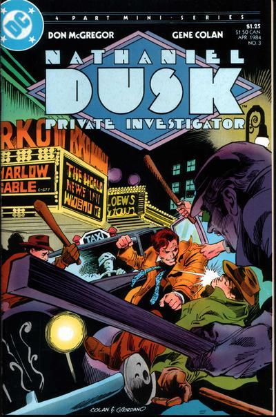 Nathaniel Dusk Vol 1 3