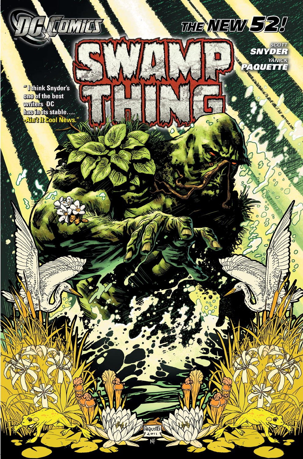 Swamp Thing: Raise Them Bones (Collected)
