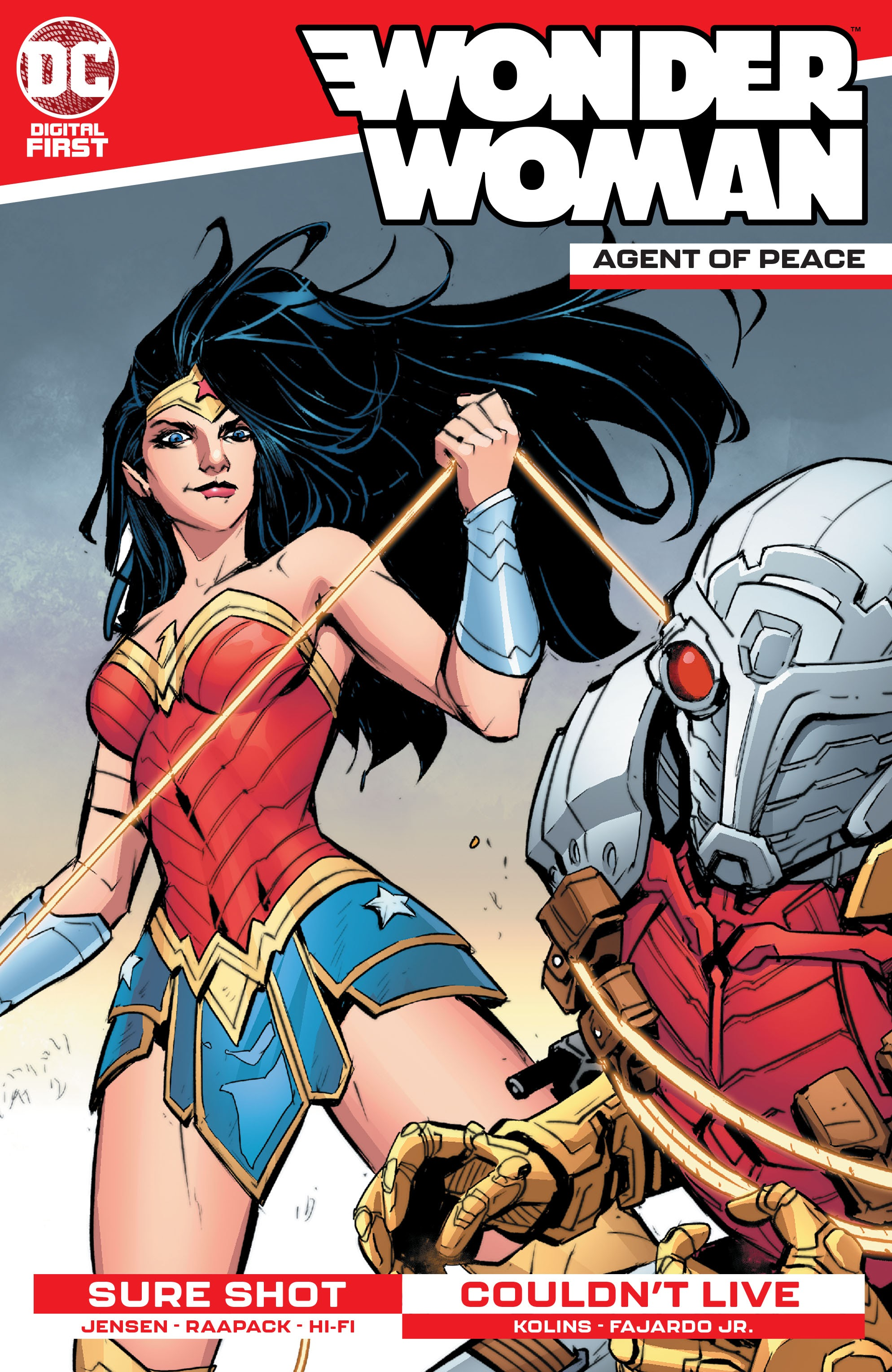 Wonder Woman: Agent of Peace Vol 1 5 (Digital)