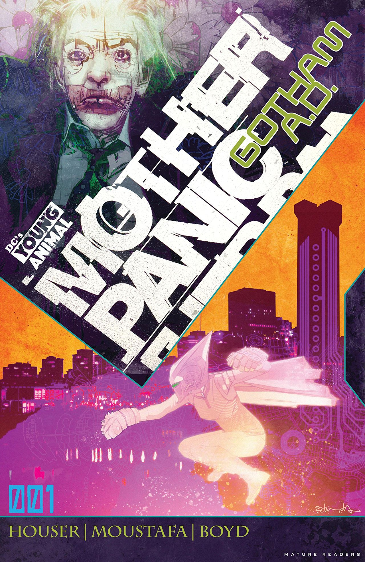 Mother Panic: Gotham A.D. Vol 1 1