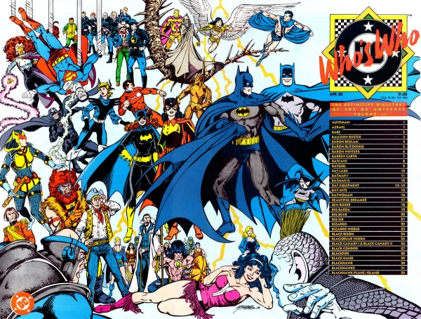 Who's Who: The Definitive Directory of the DC Universe Vol 1 2