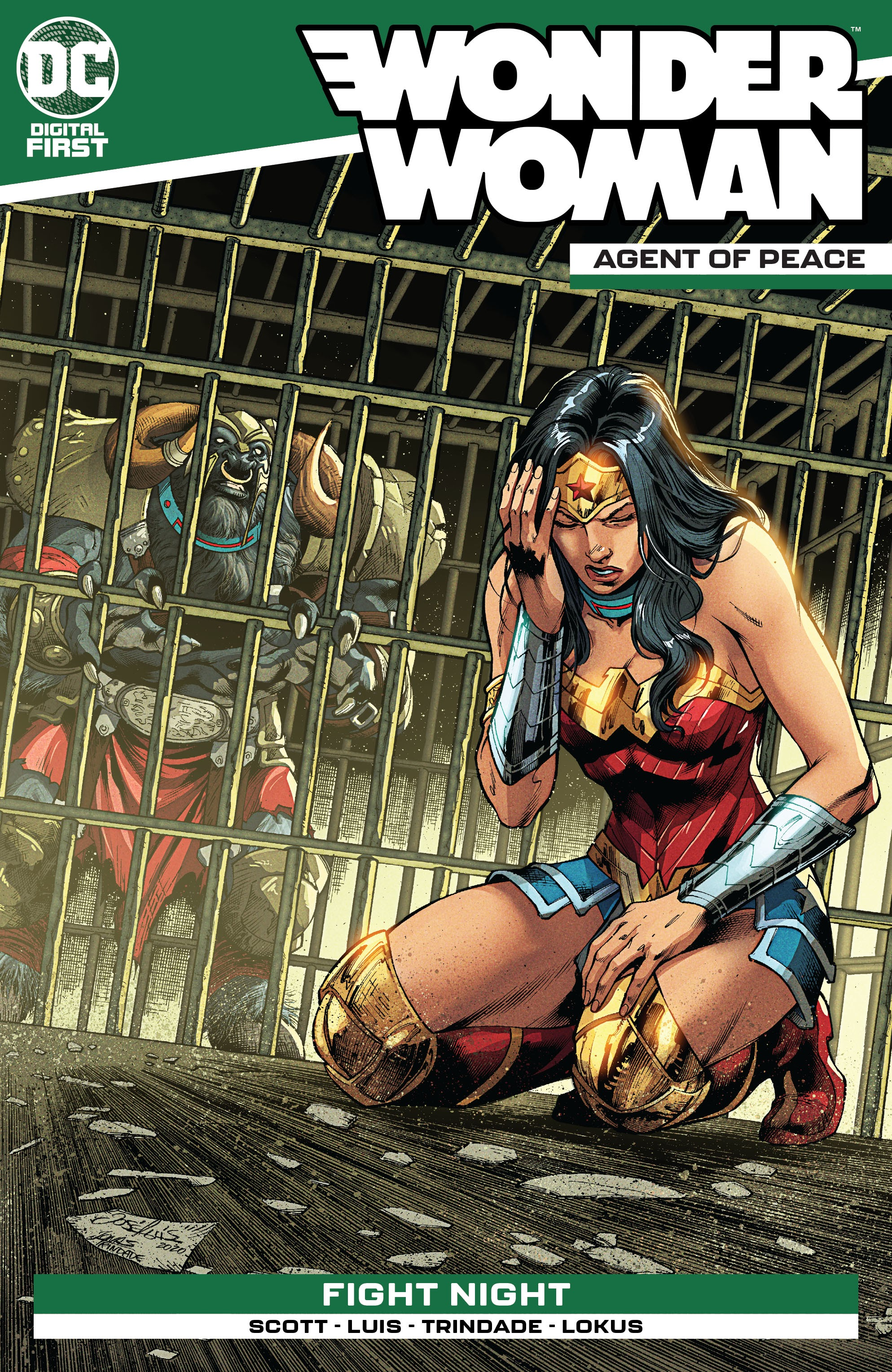 Wonder Woman: Agent of Peace Vol 1 18 (Digital)