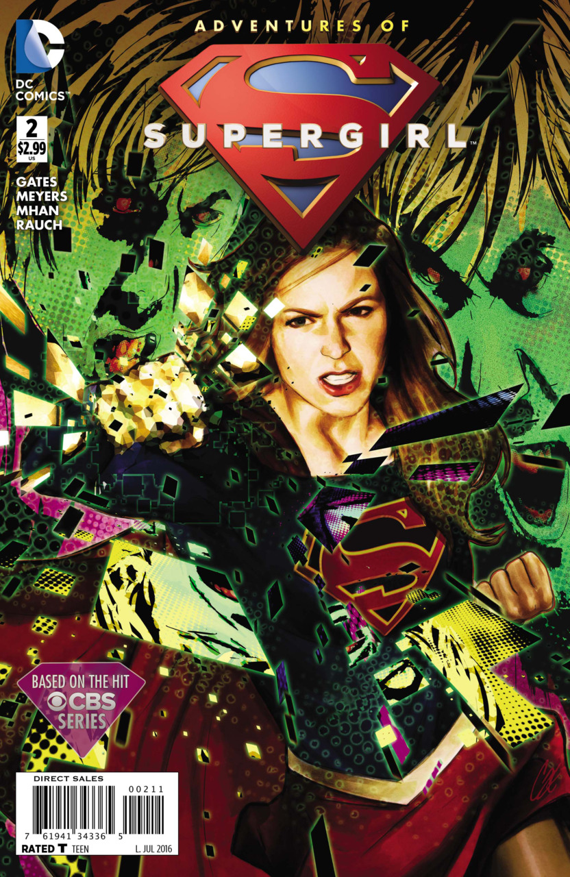 Adventures of Supergirl Vol 1 2