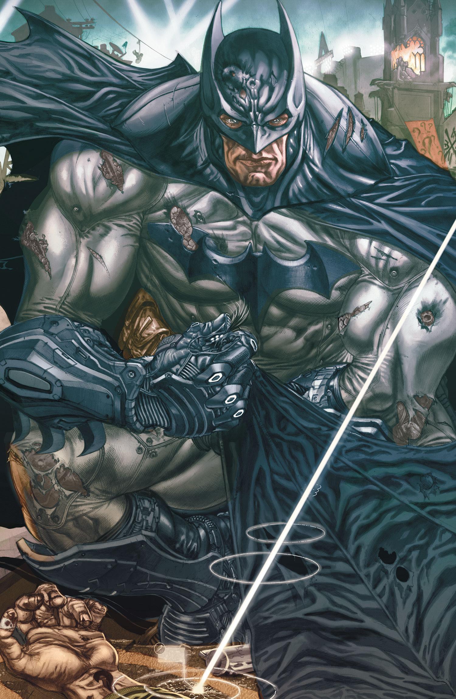 Batman Arkham Unhinged #1   D.C Comics HP804