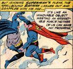Batman fights Superman