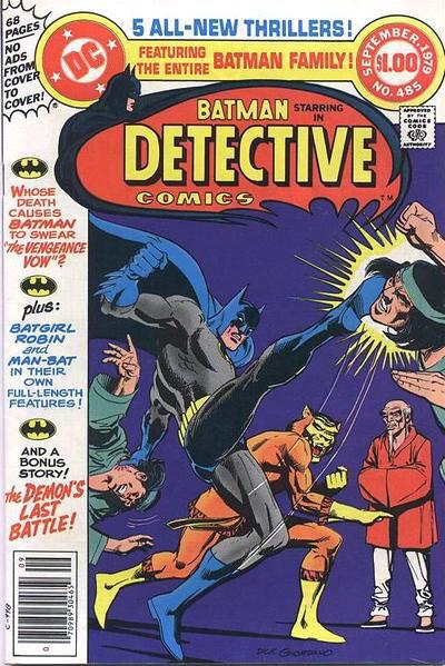 Detective Comics Vol 1 485