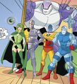 Fatal Five Scooby-Doo Team-Up 001