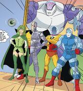 Fatal Five Scooby-Doo Team-Up 001