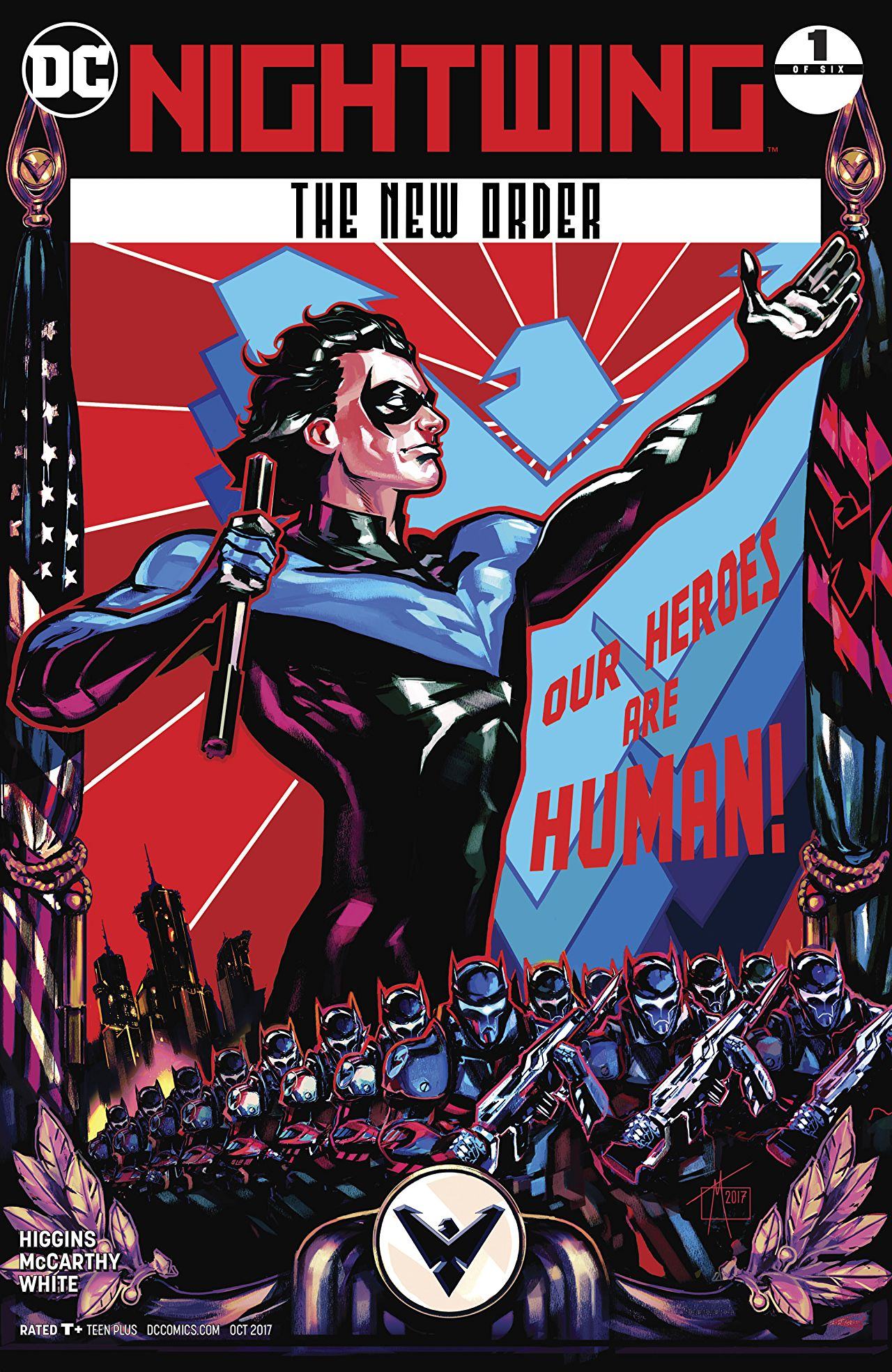 Nightwing: The New Order Vol 1 1