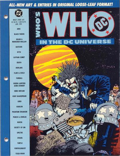 Who's Who in the DC Universe Vol 1 8